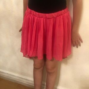 Hot Pink 💗 High-Low Skirt